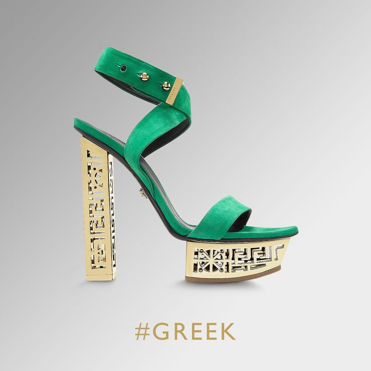 greek sandals versace